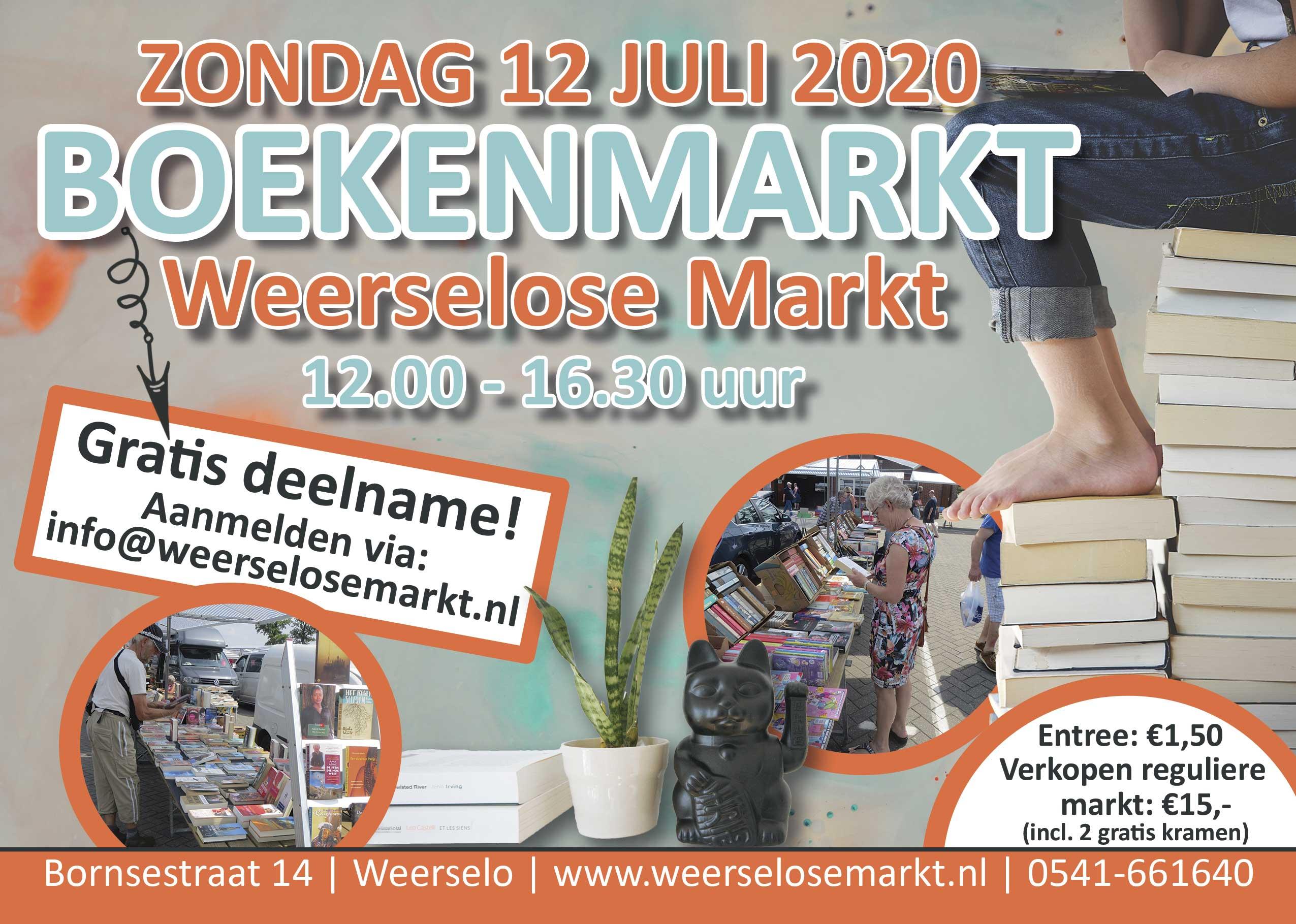 Boekenmarkt Weerselose Markt