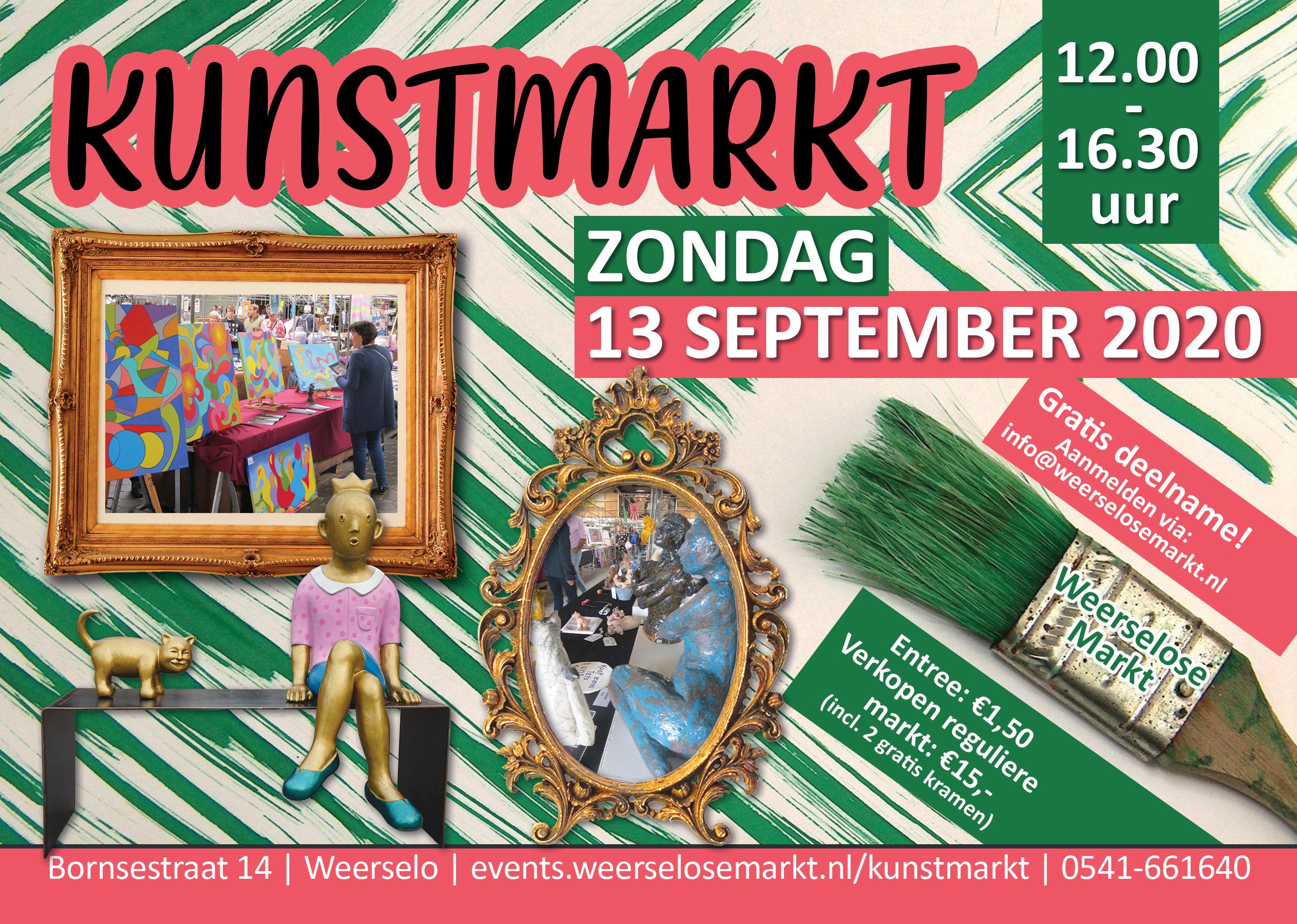 Kunstmarkt Weerselose Markt